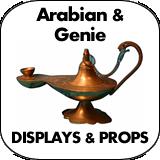 Arabian & Genie Cardboard Cutout