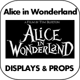 Alice in Wonderland Cardboard Cutout Standup Props