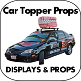 Food Truck - Car Topper Props, Displays & Signs
