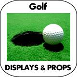 Golf Cardboard Cutout Standup Props
