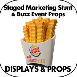 Staged Marketing Stunt & Buzz Event Props