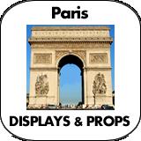 Paris Cardboard Cutouts