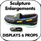 Sculpture Enlargement Displays & Props