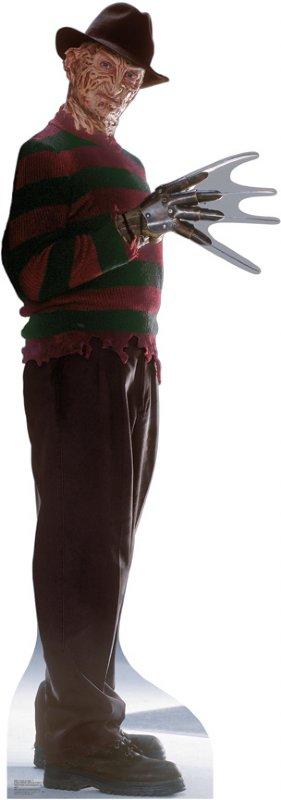 Freddy Krueger 2 - Halloween Cardboard Cutout Standup Prop