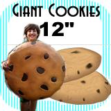 """Big Giant Cookie Foam Prop 12"""""""