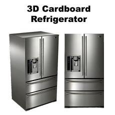 3D Cardboard Refrigerator