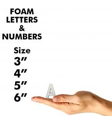 """Letters & Numbers 3"""" to 6"""""""