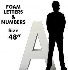 """Letters & Numbers 48"""""""