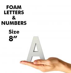 """Letters & Numbers 8"""""""
