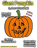 Giant Pumpkin Foam Prop