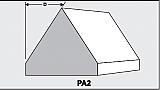 PA2 - Architectural Foam Shape - Parapets & Caps
