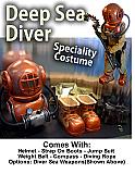 Deep Sea Diver Costume/Mascot