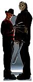 Freddy vs. Jason - Halloween Cardboard Cutout Standup Prop