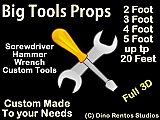 Giant/Big Tools - Any Size
