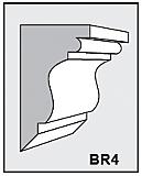 BR4 - Architectural Foam Shape - Bracket