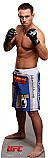 Jake Shields - UFC Cardboard Cutout Standup Prop