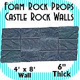 Castle Wall Rocks - Rock Wall Full - 12 Rocks