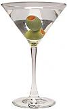 Martini Glass Cardboard Standee