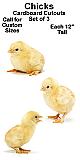 Chicks Cardboard Cutout Standup Prop