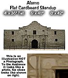 Alamo Cardboard Cutout Standup Prop