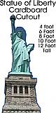Statue of Liberty Cardboard Cutout Standup Prop
