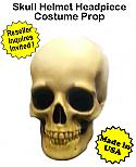 Skull Helmet Costume Prop Halloween