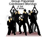 Paparazzi Group Cardboard Cutout Standup Prop
