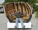 Giant Foam Baseball Glove Seat