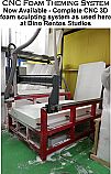 CNC Router for 3D Foam Theming - Sculptures - Props
