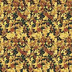 "Cardboard Roll - Leaves - 48"" x 50'"