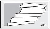 M03 - Architectural Foam Shape - Molding