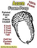 Acorn Foam Prop