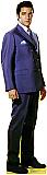 Elvis Blue Jacket (Talking) - Elvis Cardboard Cutout Standup Prop