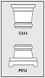 Foam-CA1-PE1 - Architectural Foam Shape - Capital & Pedestal