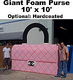 Giant Foam Purse Prop
