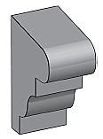 M20 - Architectural Foam Shape - Molding