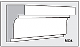 M04 - Architectural Foam Shape - Molding