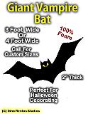 Giant Bat Foam Prop