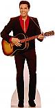 Elvis Playing Guitar - Elvis Cardboard Cutout Standup Prop